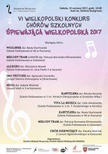 10.06.2017 konkurs chóralny