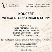 11.05.2017 koncert wokalno-instrumentalny1