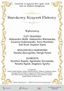 12.01.2017 barokowy koncert fletowy