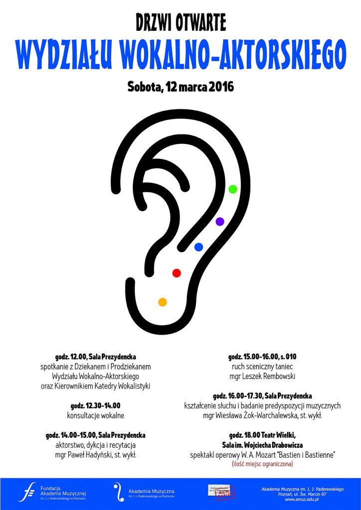 12.03.2016 drzwi otwarte W. III ucho