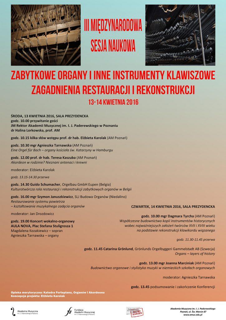 13-14.04.2016 konferencja organy