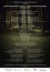13-15.03.2017 w kręgu muzyki słowiańskiej