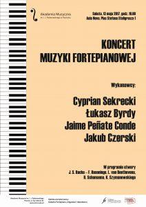13.05.2017 koncert muzyki fortepianowej