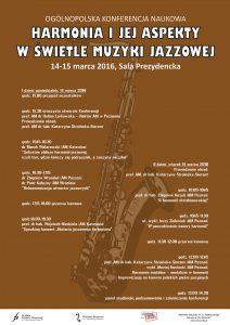 14-15.03.2016 konferencja jazzowa