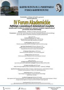 15.02.2016 IV forum akademickie