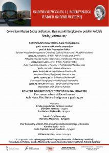 15.03.2017 konferencja ks. Białkowski