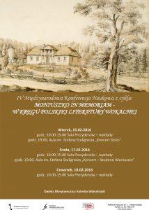 16-18.02.2016 Moniuszko