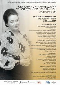 16-18.03.2017 J. Kaliszewska in memoriam2