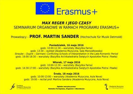 16-18.05.2016 prof. Martin Sander erasmus
