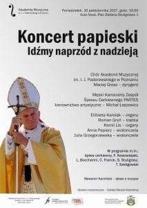 16.10.2017 koncert papieski