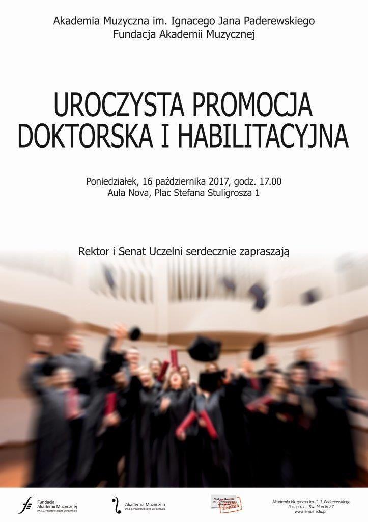 16.10.2017 promocja dr hab