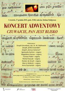 17 grudnia 2015 koncert adwentowy WER 2
