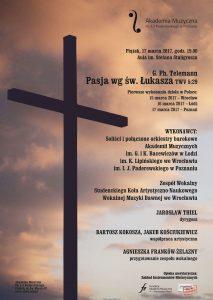 17.03.2017 Pasja wg św. Łukasza
