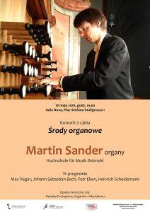 18.05.2016 środy organowe (Martin Sander)