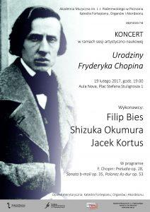 19.02.2017 Urodziny Chopina koncert