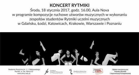 Koncert wramach Międzynarodowego Triennale Choreografii Muzyki