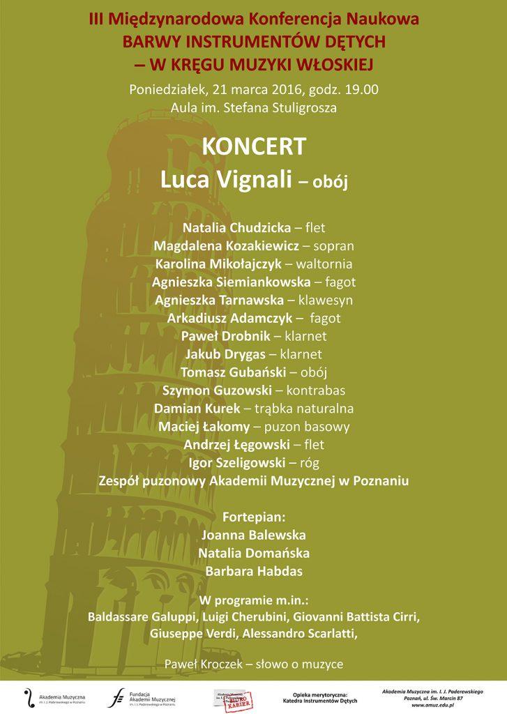 21.03.2016 konferencja dęte koncert