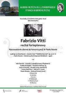 21.04.2016 Vitti recital fortepianowy