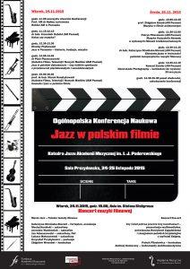 24-25.11.2015 Jazz w polskim filmie