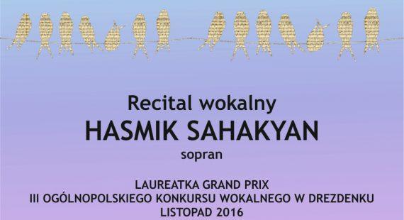 Koncert laureatów III Ogólnopolskiego Konkursu Wokalnego wDrezdenku