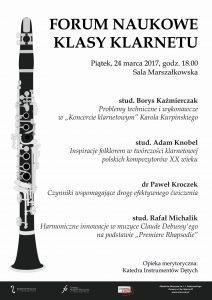 24.03.2017 forum klasy klarnetu