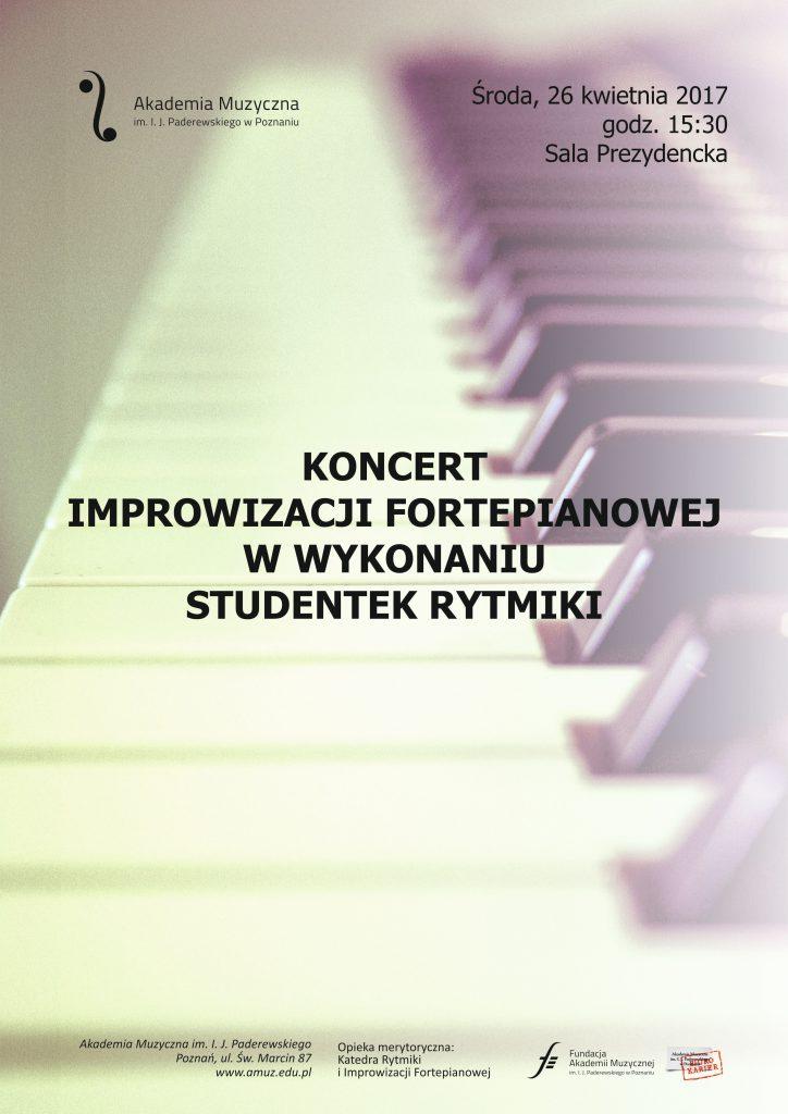 26.04.2017 koncert improwizacji fortepianowej