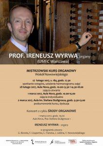 27.02-2.03.2017 kurs organowy Wyrwa UMFC