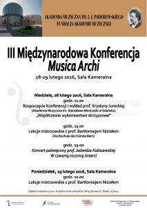 28-29.02.2016 musica archi