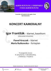 28.04.2016 koncert kameralny Igor Frantisak