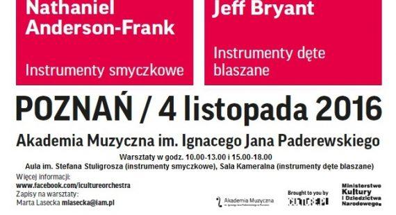 Warsztaty I, CULTURE Orchestra