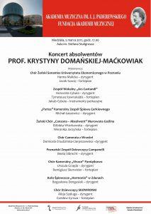 5.03.2017 absolwenci prof. Maćkowiak
