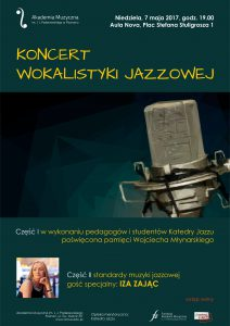 7.05.2017 koncert wokalistyki jazzowej