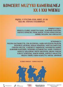 8.01.2016 koncert orkiestry kameralnej