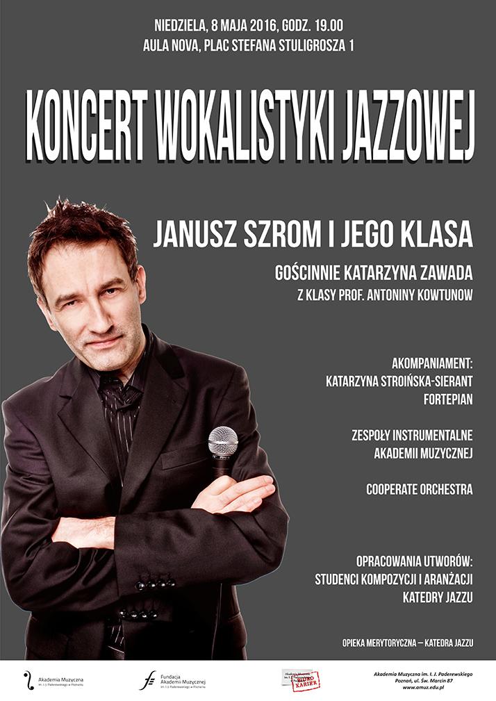 8.05.2016 Janusz Szrom