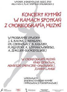 8.12.2015 koncert rytmiki