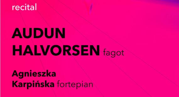 Pracownia Fagocisty – recital Auduna Halvorsena