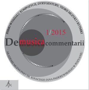 De musica cz - okładka