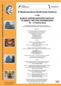 II Miu0119dzynarodowa K N Du0119tych 16, 17 marca  201 5-1