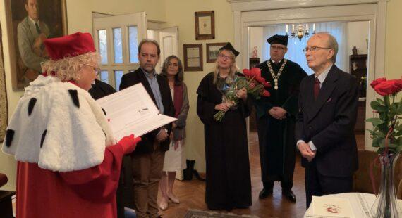 Profesor Stefan Kamasa uhonorowany tytułem doktora honoris causa Akademii Muzycznej im.Ignacego Jana Paderewskiego wPoznaniu