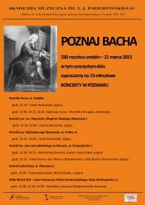 Poznaj Bacha wer elektroniczna 2015