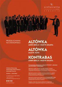 Sinfonietta Cracovia_altówka_kontrabas