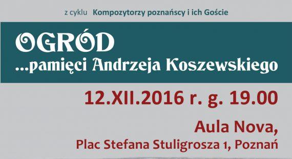 Koncert Poznańskiego Tria Fortepianowego