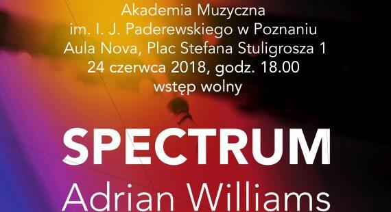 SPECTRUM – Adrian Williams